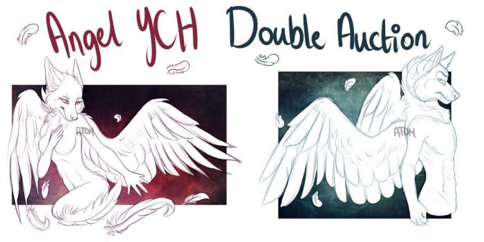 YCH Double Auction! *open* by AtomicMilkshake