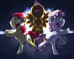 The Cutiemark Crusaders (Collab) by imsokyo