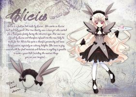 OC Reference:Alicia (Bunny Maid) by Ruri-dere