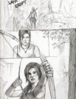 TOMB RAIDER Survivor by Pencilsketches