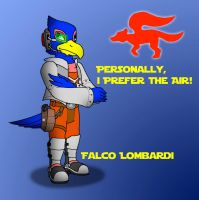 Falco Lombardi by kylgrv