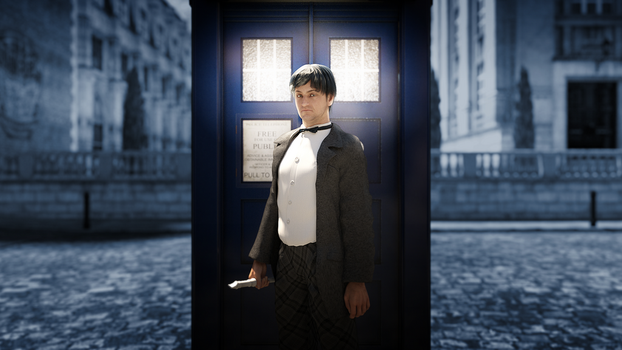2nd Doctor by Gabriel-C