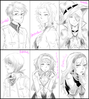 TG - Sketch Requests by Lizmun