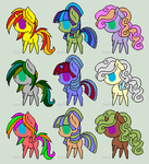 Pony Adopts (open) by jae-adopts