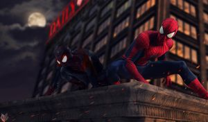 SPIDER-MEN. by spidermonkey23