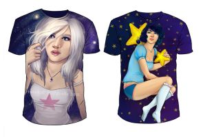 T-shirts by Kinky-chichi