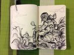 DoodleBook. 135 - driving in the clouds by doodler14