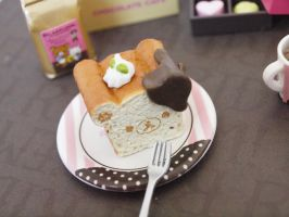 Rilakkuma Chocolate Cafe Re-ment #4 by ImSugarRibbon