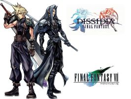 Dissidia- Cloud and Sephiroth by Balance-RoKI