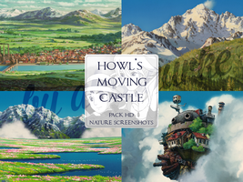 [HD SCREENSHOTS] Howl's Moving Castle - NATURE by alossgurke