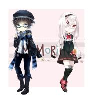 PAIR ADOPT SET PRICE [CLOSED] by Momoriin