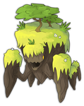 Mounterra, the Mountain Fakemon by xXDeviousPixelXx