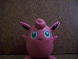 Pokemon - Wigglytuff figure by stopmotionOSkun