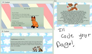 Code Your Page~ by Pepsq