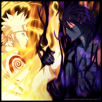 Naruto vs Ichigo by DesignerRenan