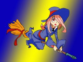 Sucy (Little Witch Academia) UPDATED by Azael1332Ragnarok