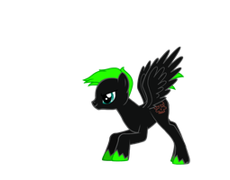Duncan as a Pony by Demonqueen23