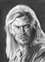 Thor-Chris Hemsworth by X-TeO-X