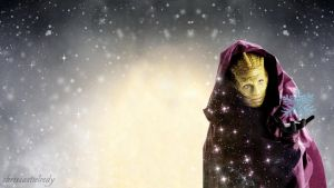 Madama Vastra Christmas Wallpaper by chriscastielredy