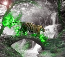 Flames Of Green by Did2009