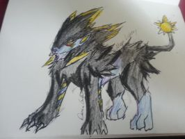 Mega Luxray by DCGIL
