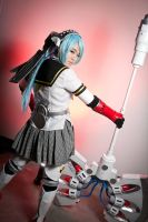 Labrys P4A Cosplay #3 (Back View) by LittleLaki