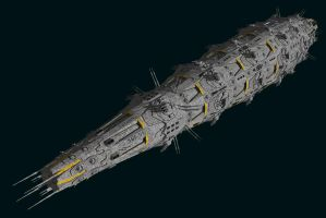 SBF Saturn by Scifiwarships