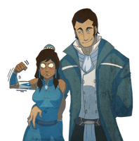Noatak and Korra by Little-Mongolian