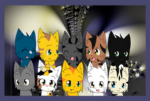 ThunderClan by 00GlaceonRoxz00