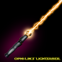 Ophi-Lin's Lightsaber by Invirion