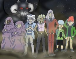 Marik's Evil Council by WildFiresProphecy