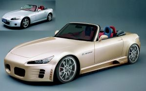 A styled Honda S2000 by gurrag