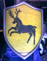 Larp Lionel Baratheon Shield by Lord-Omega83