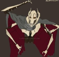 General Grievous Colored sketch by Pon-Pu