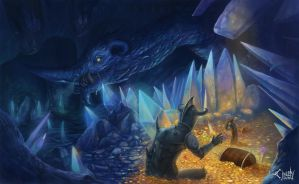 Don't you dare steal the treasure of the Dragon by CindyAA