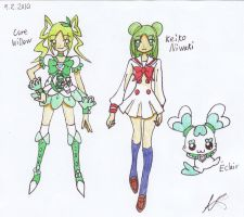 HCPC OC Cure Willow and Eclair by Manga-Magician-Girl1