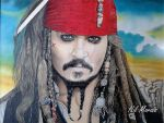 Jack Sparrow by niltheoogam