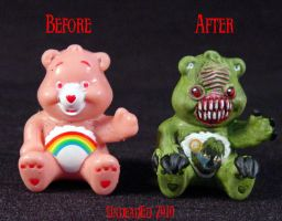 Killer Care Bear Swamp compare by Undead-Art