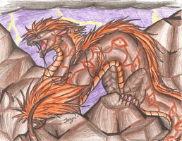 after earth dragon by Trucy757