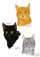 Warrior Cats by Chonart