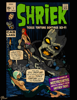 Shriek ~ Rare issue Number 1 by CeeAyBee