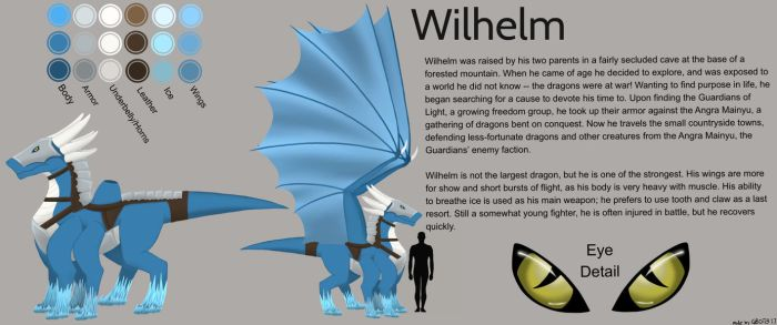 Wilhelm Reference Sheet by gbot13