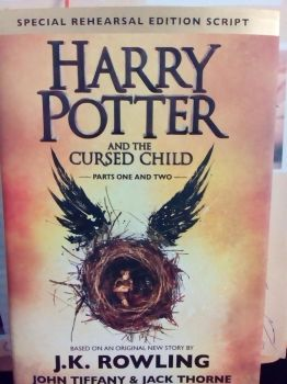 Harry potter and the cursed child book by aliciamartin851