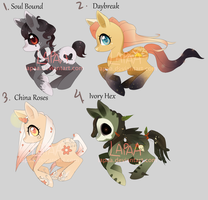 pony adopt auction CLOSED all sold xx by lapaa