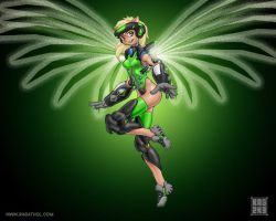 Xbox Angel by Ragathol