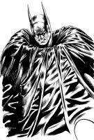 Doodle Brush - Batman by edtadeo