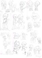 Wakfu 3 Special Epsiodes Sketchdump *spoilers?* by LeniProduction