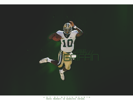 Robert Griffin Wallpaper by KevinsGraphics