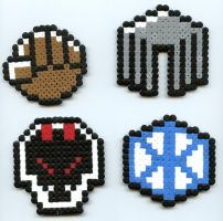 Pokemon Heart gold badges1 by Frost-Claw-Studios
