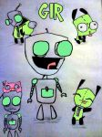 My GIR's of doooom! (now in colour) by Cutediepie